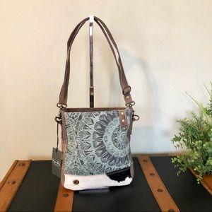 Handbags - Myra Verdant upcycled Crossbody Purse NWT